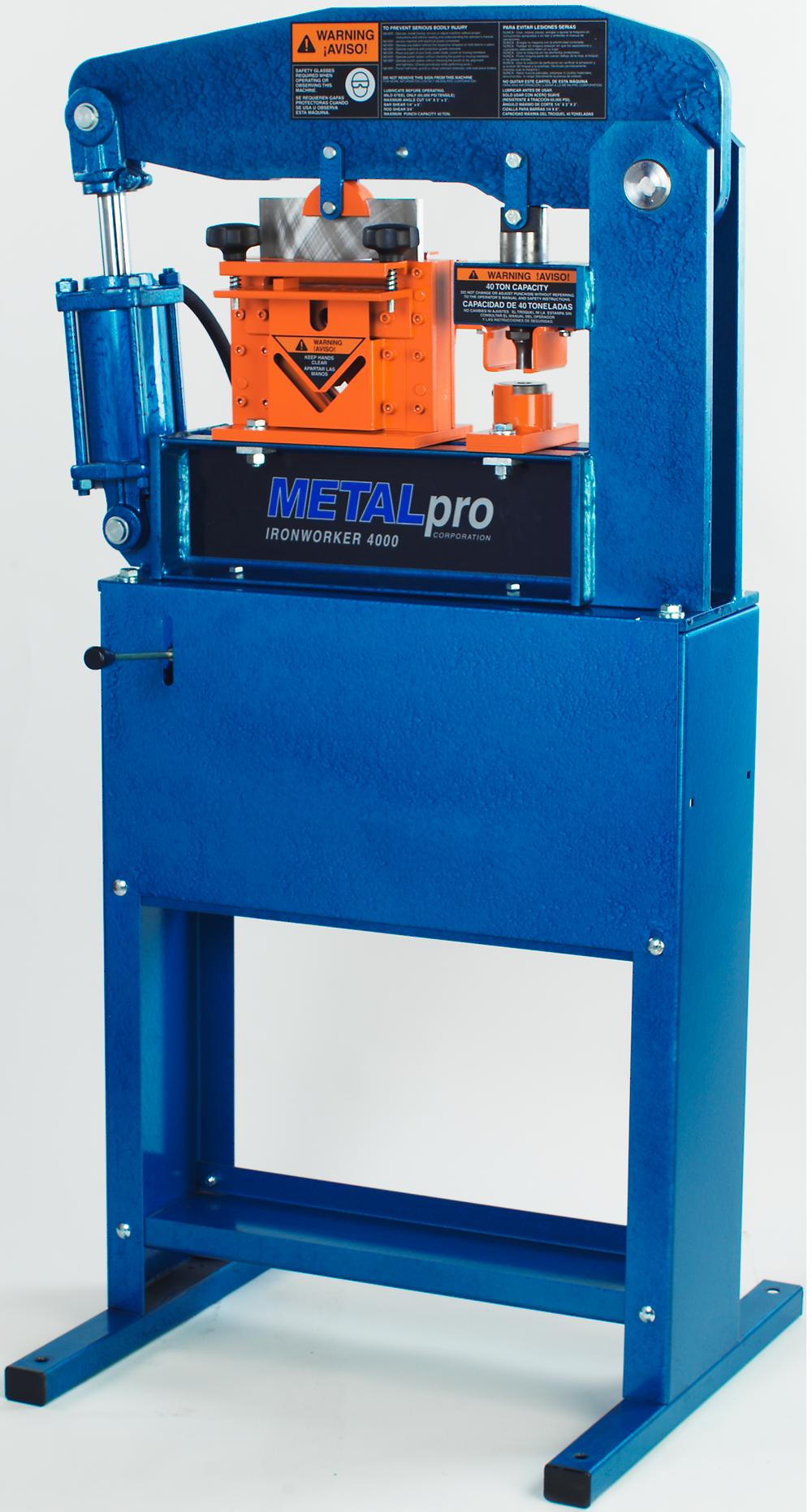 MetalPro 40 Ton Ironworker MP4000